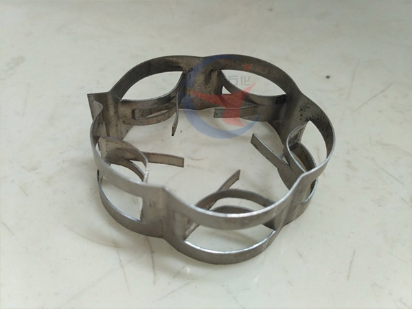 Flat ring random packing